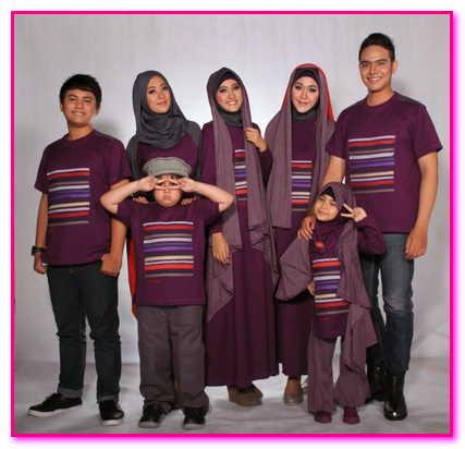 baju muslim couple keluarga besar