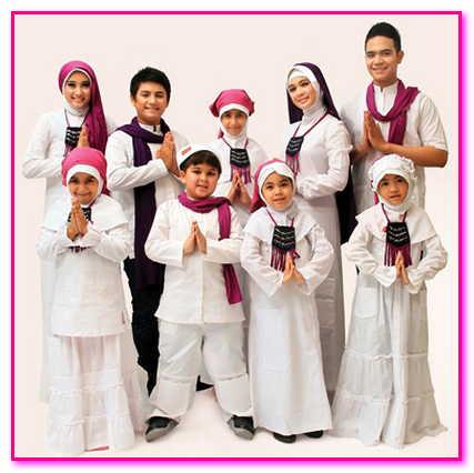 baju muslim couple satu keluarga