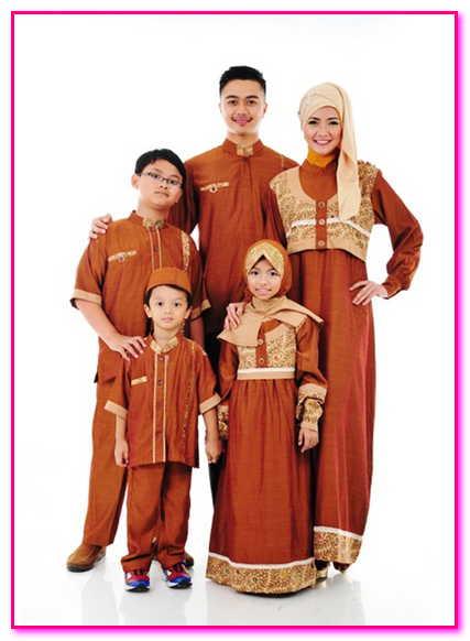 baju muslim couple sekeluarga