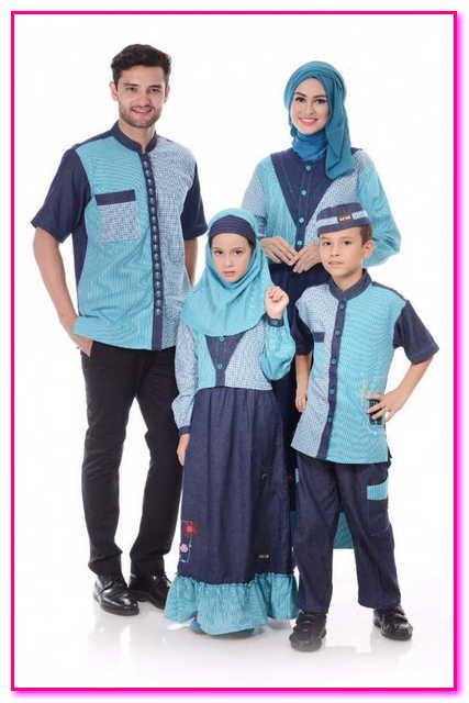 baju muslim couple untuk keluarga