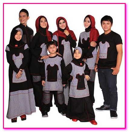 baju muslim keluarga zoya