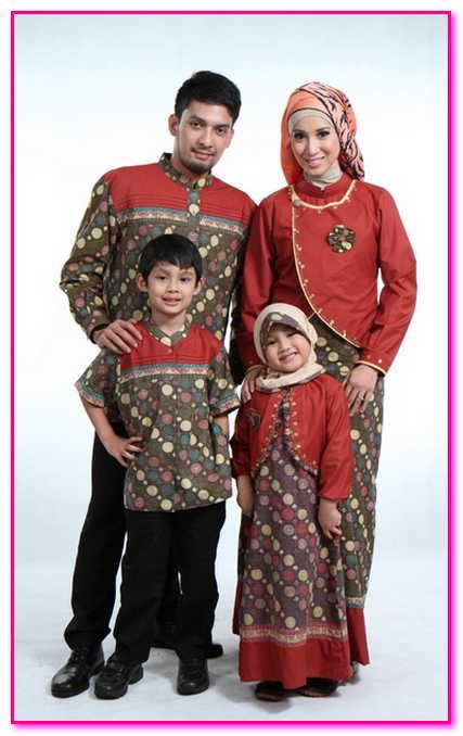gambar baju couple muslim keluarga