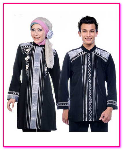model baju couple muslim pesta