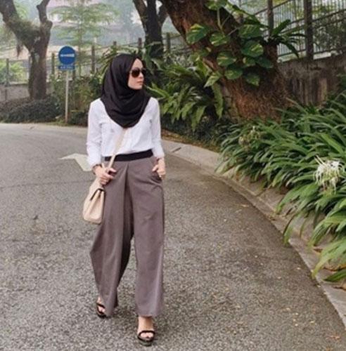 Model Celana Muslimah Trendy