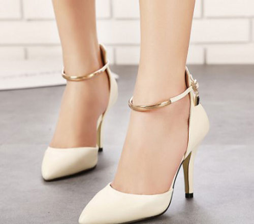 Angkle Strap Shoes