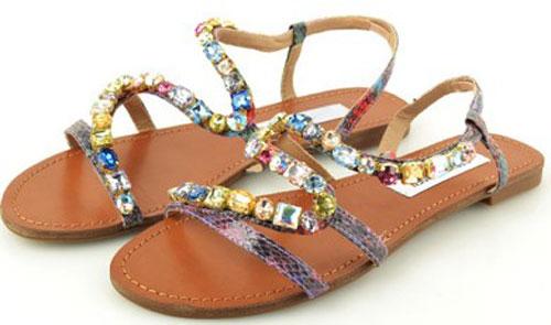 Model Sandal Tipe Flat