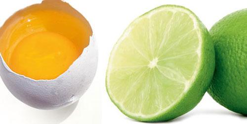Putih Telor Dan Buah Lemon
