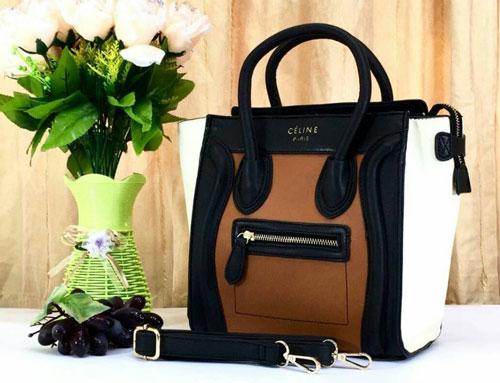 Tas Celine Nano Luggage With Long Strap Semi Premium