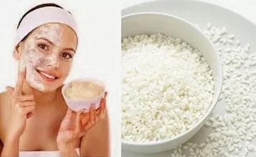 cara memutihkan wajah dengan air cucian beras