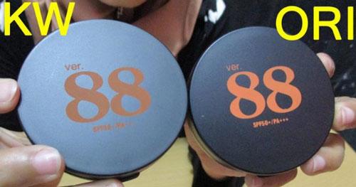 produk Bedak 88 asli dan palsu