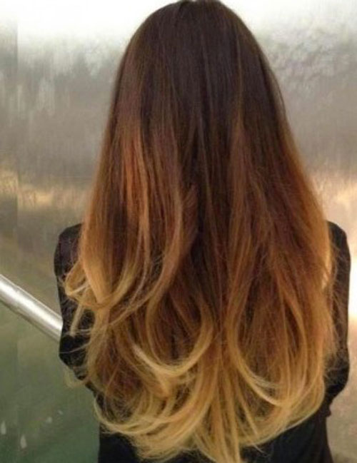 warna rambut full ombre