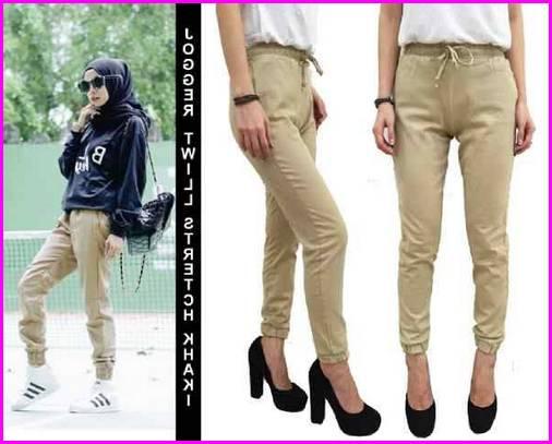 Celana Jogger Jeans Wanita 2