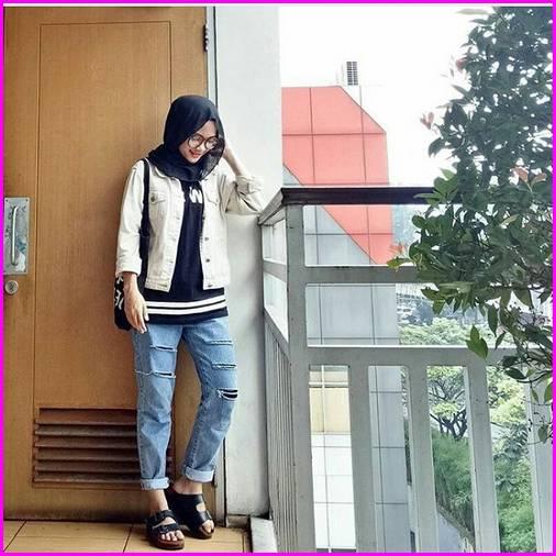 Celana Jogger Jeans Wanita 4