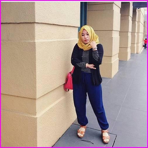 Celana Jogger Wanita Polos 2