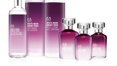 New White Musk Frag Body Mist