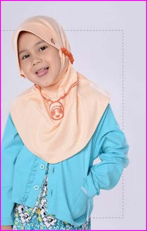 Model Kerudung Rabbani Untuk Anak - Anak 1