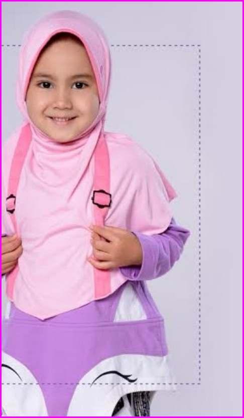 Model Kerudung Rabbani Untuk Anak - Anak 2