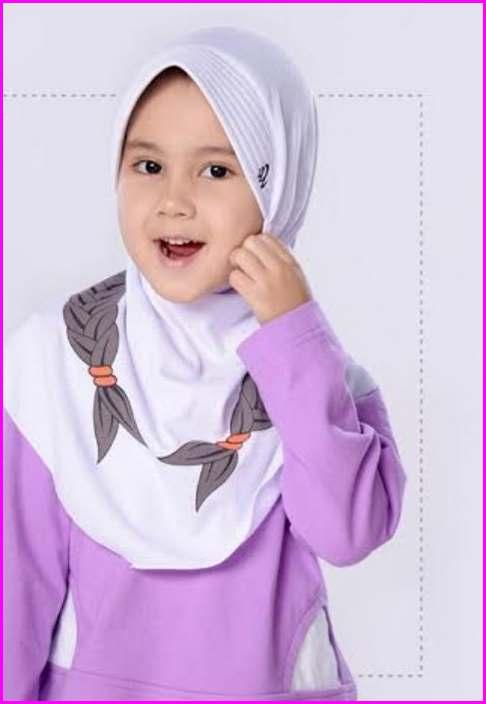Model Kerudung Rabbani Untuk Anak - Anak