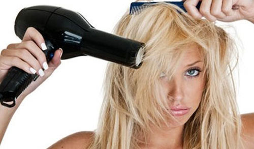 Pemakaian Hairdryer