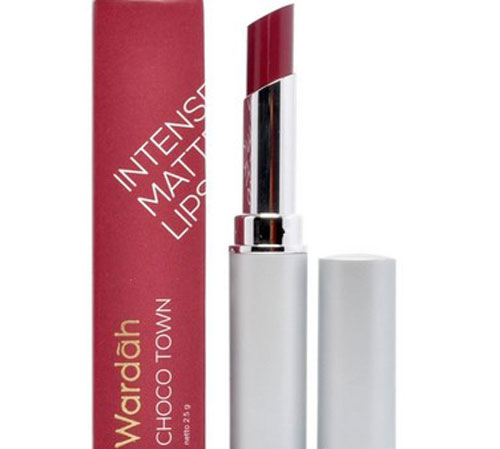 Wardah Intense Matte Lipstick Choco Town