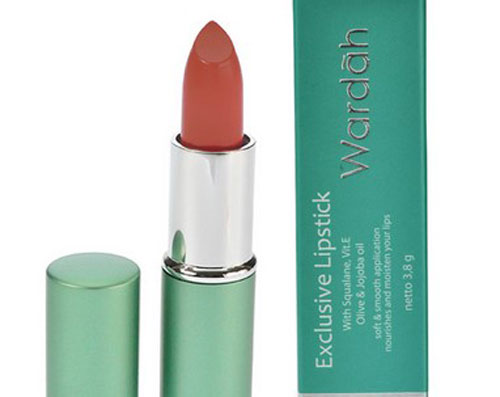 Wardah Matte Lipstick Bronze Nude