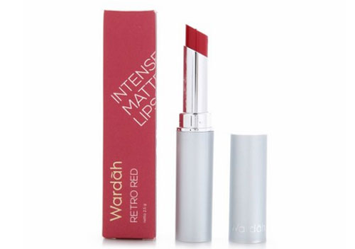 Wardah Matte Lipstick Retro Red