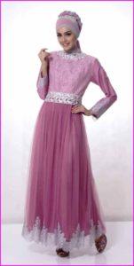 Baju Muslim Dengan Model Gaun 1