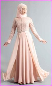 Baju Muslim Dengan Model Gaun 3