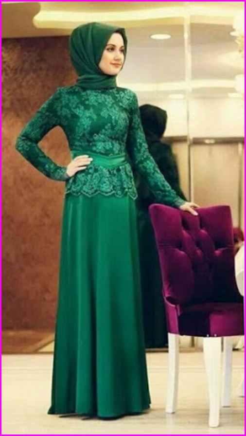 20 Baju Muslim Pesta Modern Elegan 2021