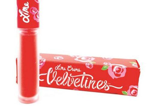Lime Crmime Velvetines Liquid Lipstick