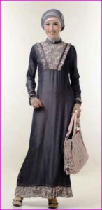 Model Baju Pesta Muslim Sifon 4