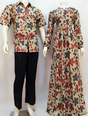 Gamis Batik Modern (2)