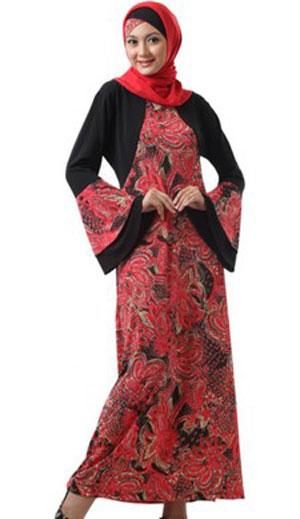 Gamis Batik Modern (6)