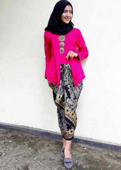Model Kebaya Kutu Baru Hijab 08