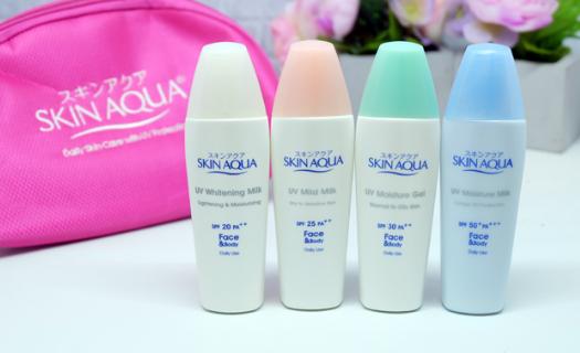 1. Skin Aqua UV Moisture Milk