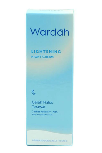 14 Wardah Lightening Night Cream