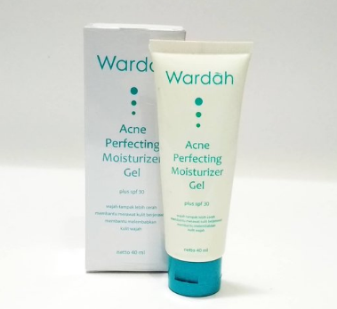 15. Wardah Acne Perfecting Moisturizer Gel