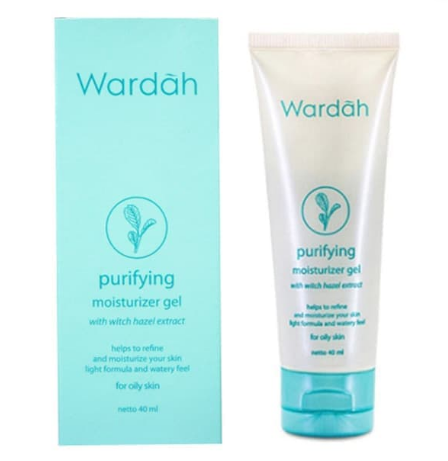 2. Waradah Purifying Moisturizer Gel