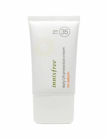 3. Innisfree Daily UV Protection Cream No Sebum