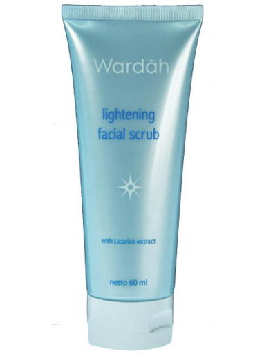 6. Wardah Lightening Facial Scrub