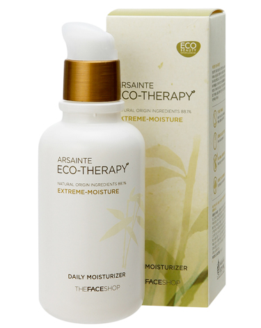 7. The Face Shop Arsainte Eco Therapy Moisturizer