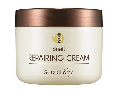 9. Secret Key Snail Repairing Gel Cream