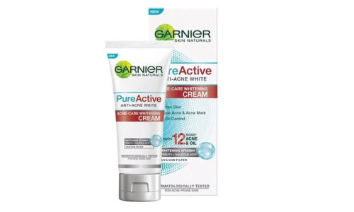Garnier Pure Active Acne Care Whitening Cream