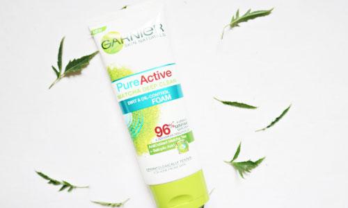 Garnier Pure Aktive Anti Acne Mactha Deep Clean
