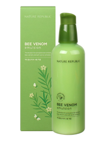 1. Nature Republik Bee Venom Emulsion