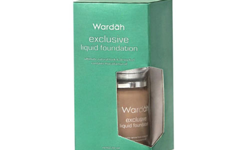 Wardah Exclusive Liquid Foundation Coffee Beige