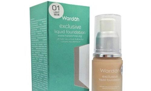 Wardah Exclusive Liquid Foundation Light Beige