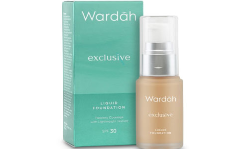 Wardah Exclusive Liquid Foundation Natural
