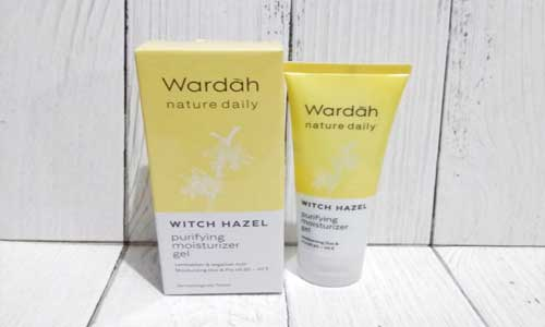 Wardah Witch Hazel Purifying Moisturizer Gel