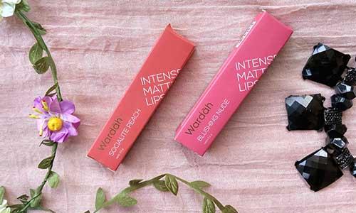 3. Wardah Intense Matte Lipstick – Socialite Peach 1